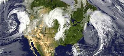 Weather America North Pressure Low Systems Three