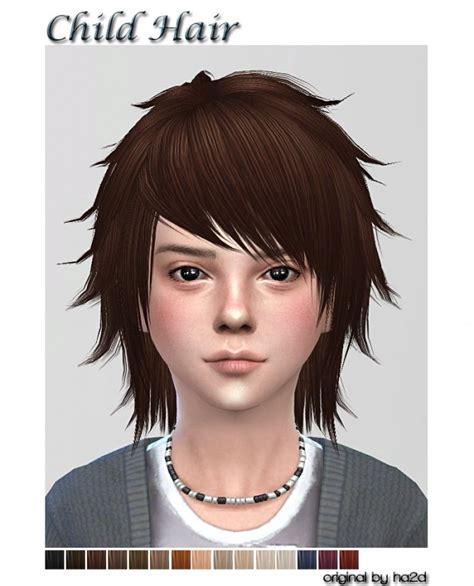 nightcrawler  child hairs edit  shojoangel sims
