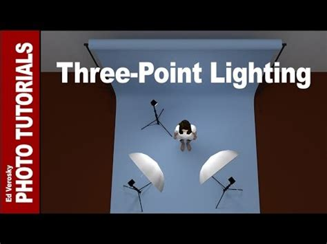 3 point lighting photography three point lighting for portrait photography youtube