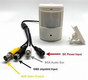 Motion Detector Security Camera  Ahd Cctv  Hidden Infrared