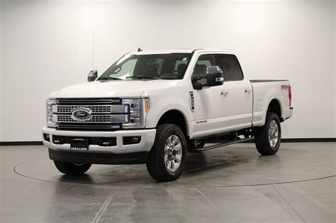 2019 Ford Duty 7 0 by New 2019 Ford F 250 Duty Platinum Crew Cab In