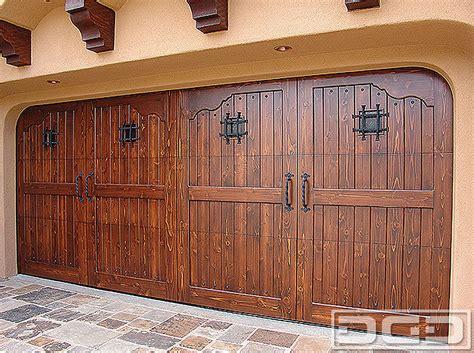 Spanish Colonial 08  Custom Architectural Garage Door
