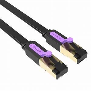 Cable Rj45 Cat 7 : vention 1 10m 10gbps cat 7 rj45 patch cord ethernet cable ~ Melissatoandfro.com Idées de Décoration