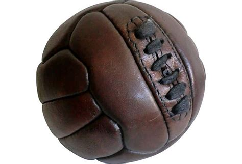 Vintage 1960's Leather Soccer Ball | Vintage | Pinterest ...