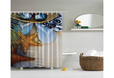 theme shower curtain tropical theme shower curtain