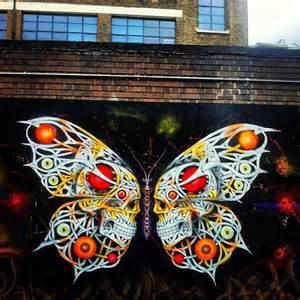 Graffiti Skulls Wall Art