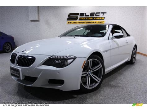 2008 Bmw M6 For Sale by 2008 Bmw M6 Convertible In Alpine White Y79939