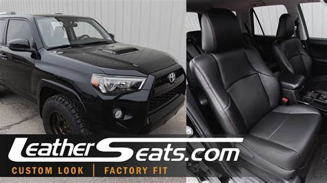 Upholstery Tacoma by 2010 2018 Toyota 4runner Custom Leather Trimmed Upholstery