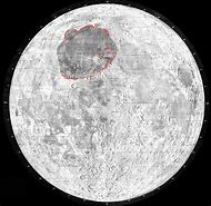 Moon Landing Sites Map