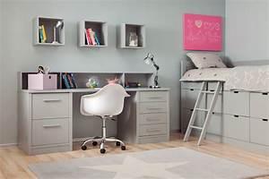 Bureau Pour Chambre : chambre enfant bahia block avec bureau pour enfant asoral so nuit ~ Teatrodelosmanantiales.com Idées de Décoration
