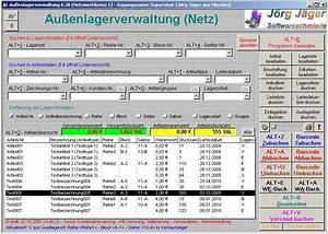 Jj software aussenlagerverwaltung lagerverwaltung for Access beispiele lagerverwaltung