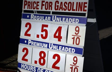Price Of by Do Gasoline Prices Affect Residential Property Values