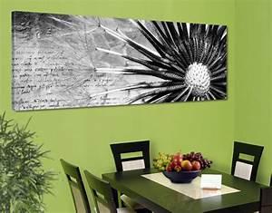 Bild Pusteblume Schwarz Weiß : leinwand bild bilder pusteblume schwarz wei 120x40 panorama pusteblumen ebay ~ Bigdaddyawards.com Haus und Dekorationen