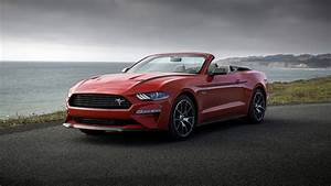 2020 Ford Mustang EcoBoost Convertible High Performance Package 4K 8K Wallpaper | HD Car ...