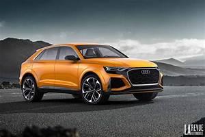 Audi Q8 Interieur : photo audi q8 sport concept interieur exterieur ann e 2017 ~ Medecine-chirurgie-esthetiques.com Avis de Voitures