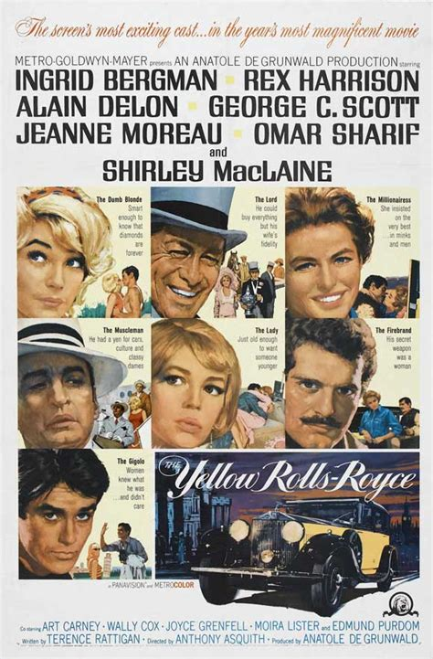 yellow rolls royce movie the yellow rolls royce movie posters from movie poster shop