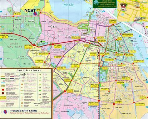 map  hanoi vietnams capital vietnam