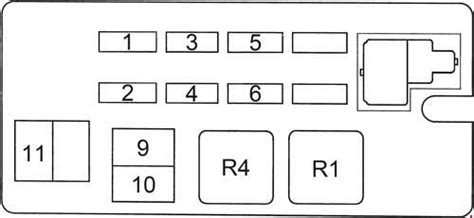 toyota runner   fuse box diagram auto genius
