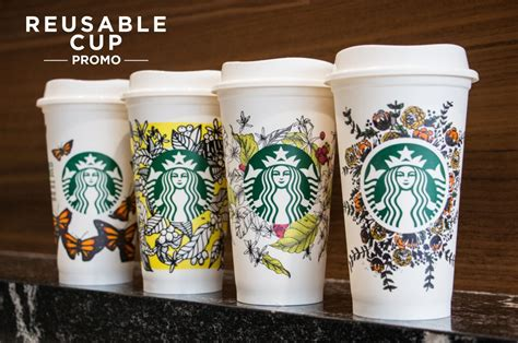 Go Green With Starbucks Reusable Cup Eco Friendly Promo Yeti 14 Oz Rambler Coffee Mug Community Tracking Form Hot Blender Vs Starbucks Blue New Coupons Trial