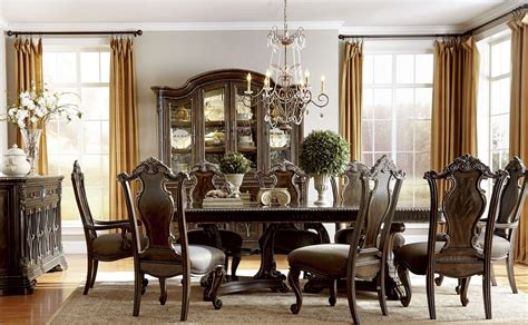 Gables Double Pedestal Extendable Dining Room Set From Art