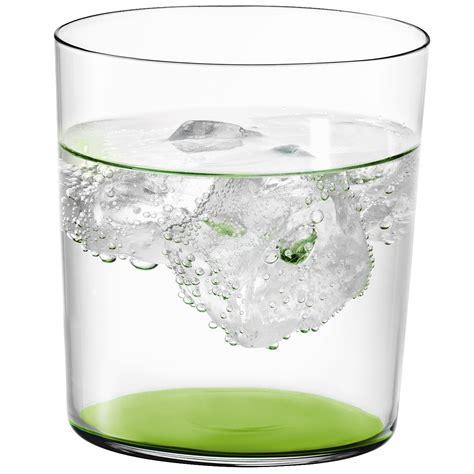 lsa bicchieri lsa set 6 bicchieri collezione gio colorati 390ml limone