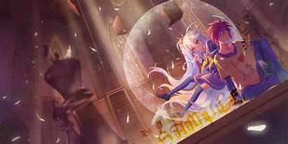 Sora Shiro Anime Pixiv Wallpapers Library Hair