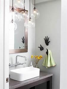 Luminaire Salle De Bain Design : d co wc et salle de bain fonctionnalit et fra cheur ~ Teatrodelosmanantiales.com Idées de Décoration