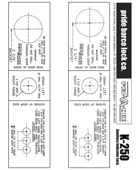 lock templates door backset template electric locking systems mechanical digital door lock access sc