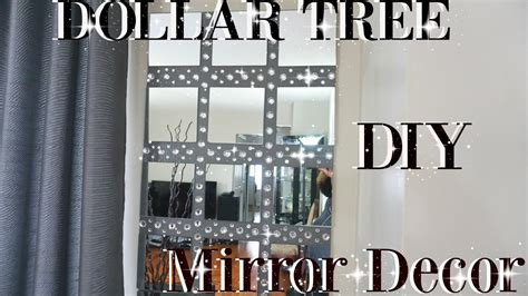 diy dollar tree bling mirror wall decor petalisbless