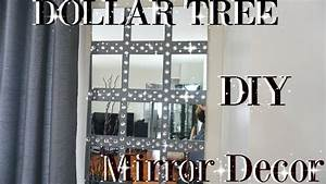Incredible rhinestone wall mirror large mirrors decor for Inspiring dollar tree wall decals