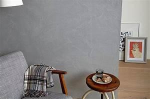 Rauputz Innen Selber Machen : beton optik moderner industrie look f r die wand ~ Lizthompson.info Haus und Dekorationen