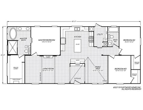 canyon lake gfleetwood homes   fleetwood homes floor plans large floor plans