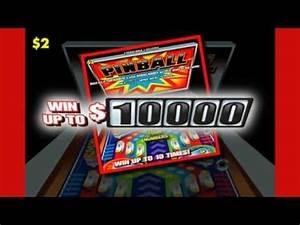 Louisiana Lottery Pinball Scratch-off Ad