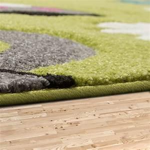 Teppich Grün Grau : schmetterling teppich gr n grau fuchsia creme kinderzimmer teppiche butterfly kinderteppich ~ Markanthonyermac.com Haus und Dekorationen