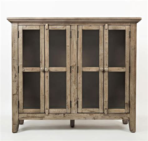 48 Inch Cabinet by Rustic Shores 48 Inch Accent Cabinet Weathered Grey By
