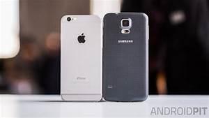 Comparatif Iphone 6 Et Se : test comparatif iphone 6 vs samsung galaxy s5 androidpit ~ Medecine-chirurgie-esthetiques.com Avis de Voitures