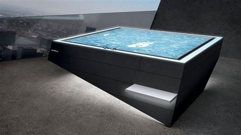 Chill Edelstahl Whirlpool  Spa Natural