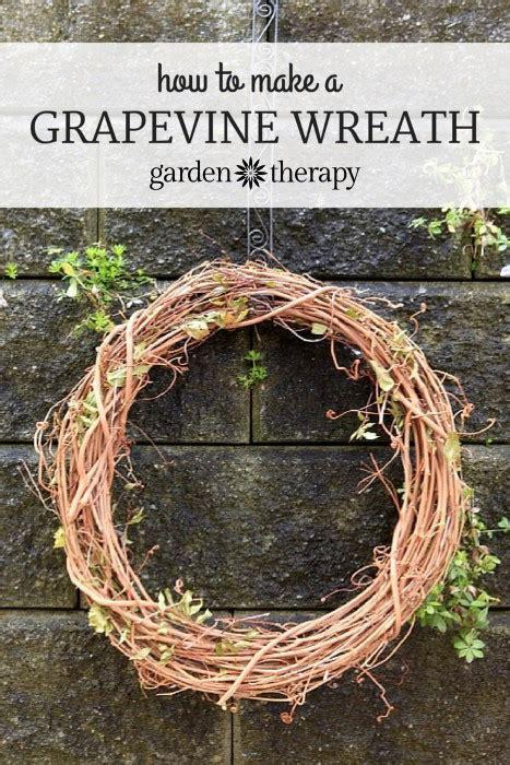 how to make a grapevine wreath
