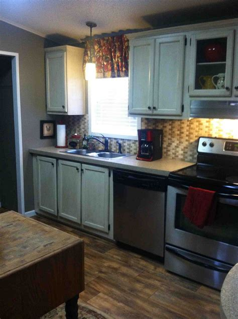 mobile home kitchen design hometalk my redo of our manufactured home 7550
