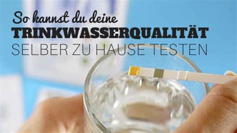 trinkwasser selber testen so kannst du selber einen trinkwasser test durchf 252 hrendein wassersprudler