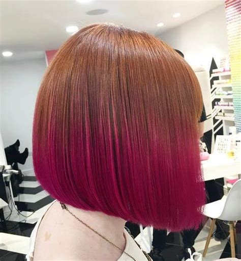 hottest short ombre hairstyles    ombre
