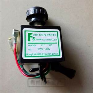 12v Car Ac Thermostat Switch Adjustable Electronic