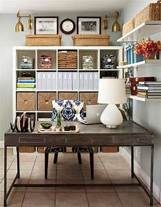Organized Home Office Spaces Interiors B A S Blog