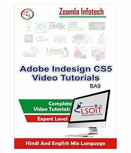 Adobe Indesign Cs5 Video Tutorials By Zoomla Infotech
