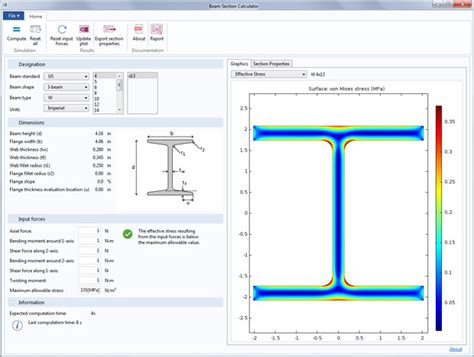 Comsol52appbeamsection