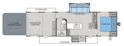 Jayco Fifth Wheel Hauler Floor Plans by 2016 Octane Hauler Floorplans Prices Jayco Inc