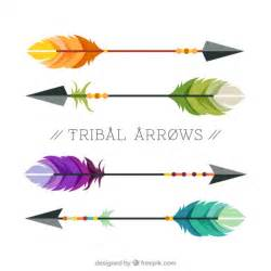 Vector Tribal Arrow Colorful
