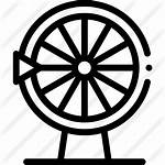 Fortune Wheel Icon Premium Svg Lineal Icons