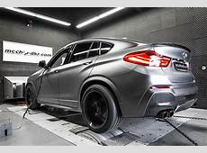 BMW X4 xDrive35d Taken Up to 370 HP Is a Preview for the