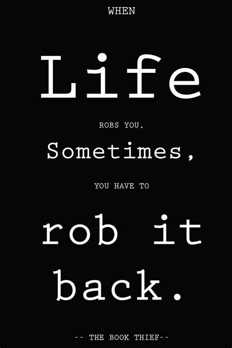 life robs      rob